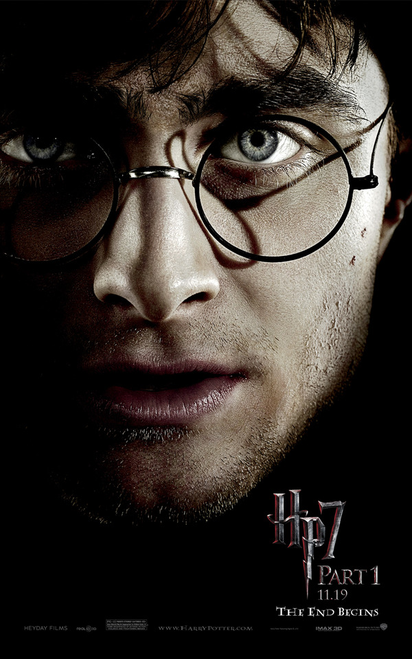 harry potter and the deathly hallows part 1 movie cover. Part 1 begins as Harry,