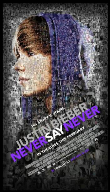bieber never say never poster. Justin Bieber: Never Say
