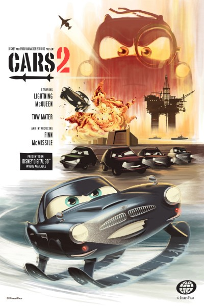 cars 2 poster. style posters for Cars 2.
